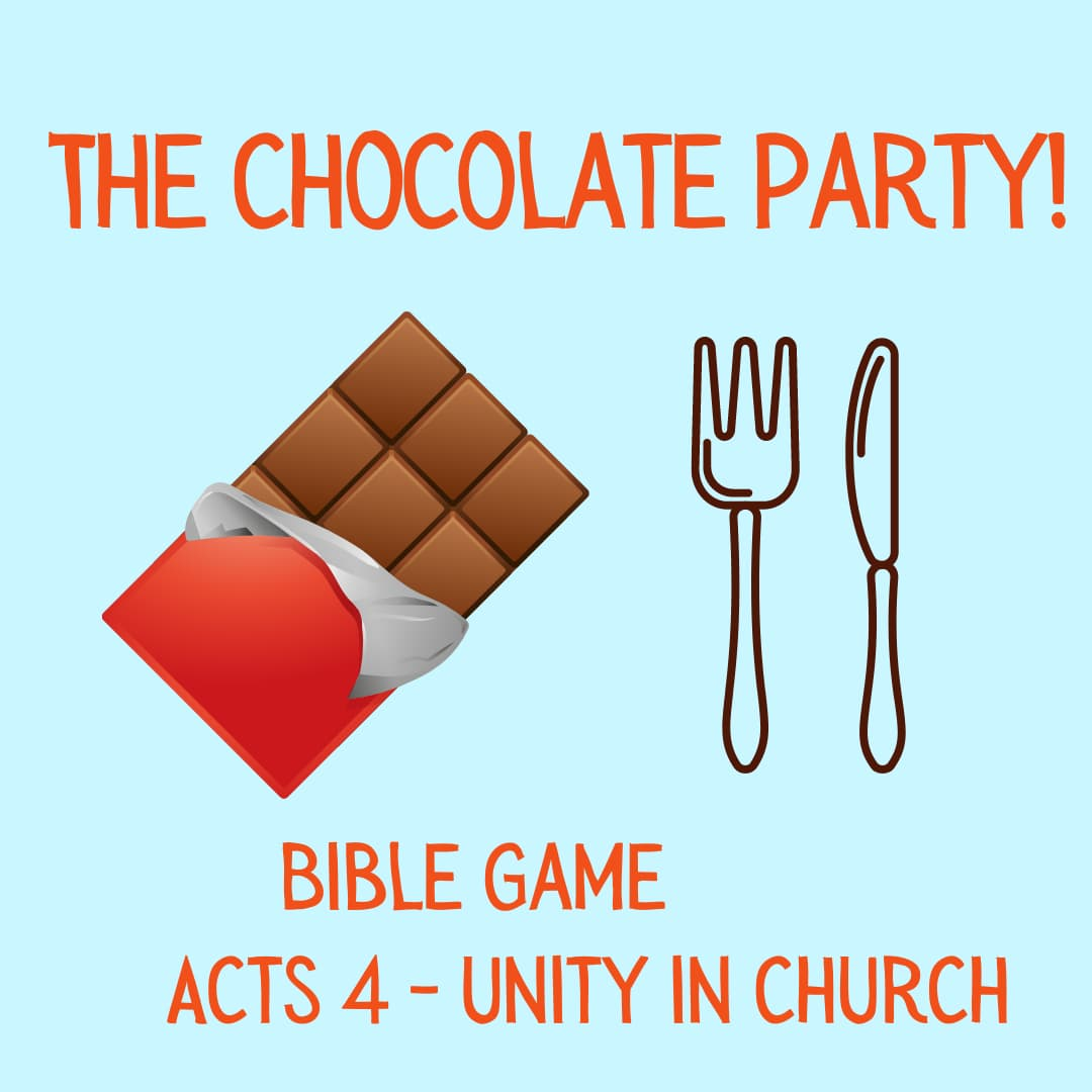 Share honestly object lesson and bible game on Acts 4 unity early church