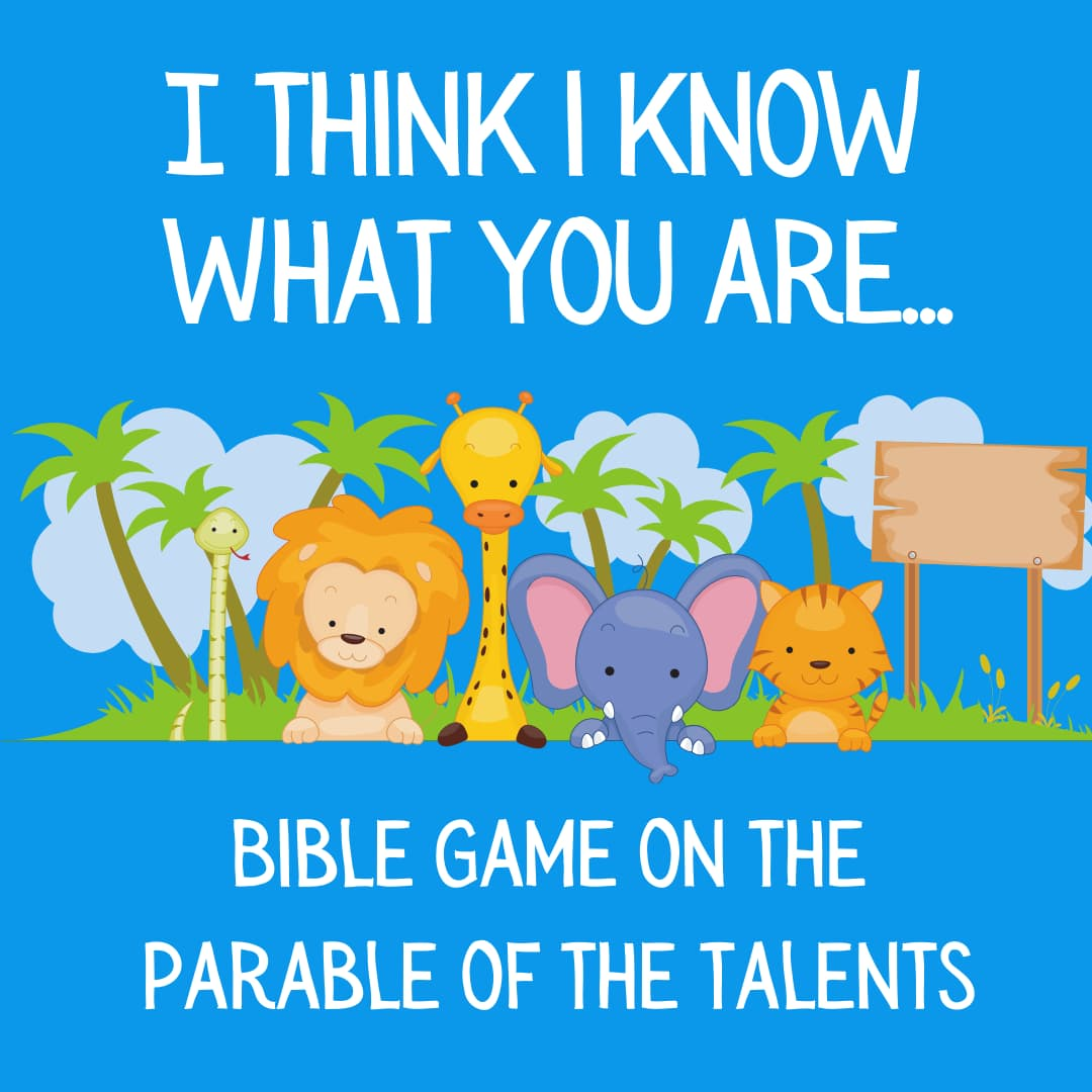 Walk in activity on the parable of the talents childrens ministry sunday school lesson