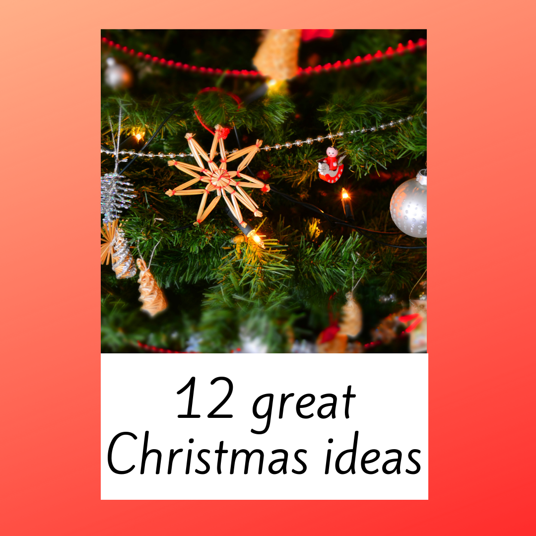 twelve great christmas ideas for you twelve great christmas ideas for you