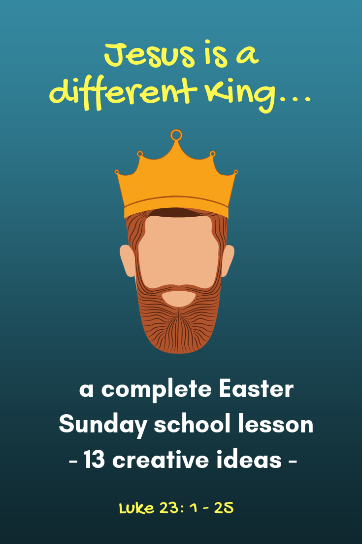 Complete Sunday School Lesson Easter 2 Jesus Is A Different Kind