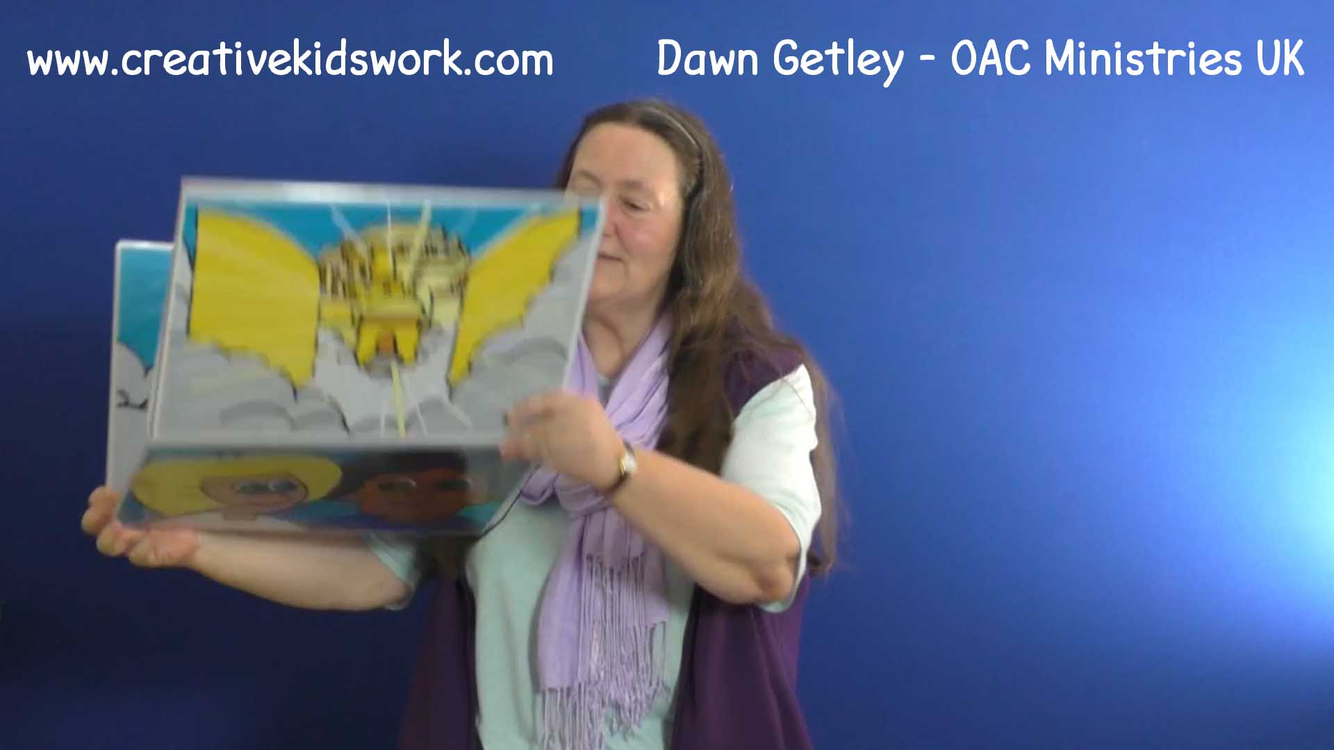 Dawn Getley tells the story of Noah and the ark