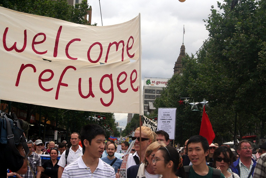 welcome rrefugee