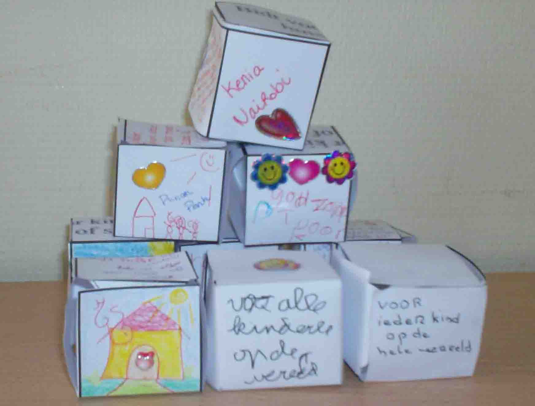 From a cross to a box for a homeless child