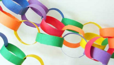 Paper Chain to thank God with