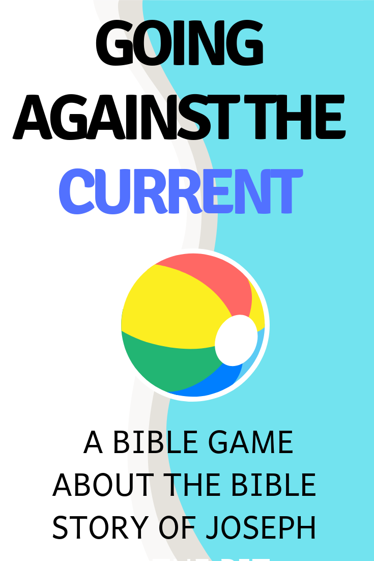 Going against the current use this fun game to think about the Bible story of Joseph in Egypt. Ideal for a Sunday school lesson kids ministry or childrens church