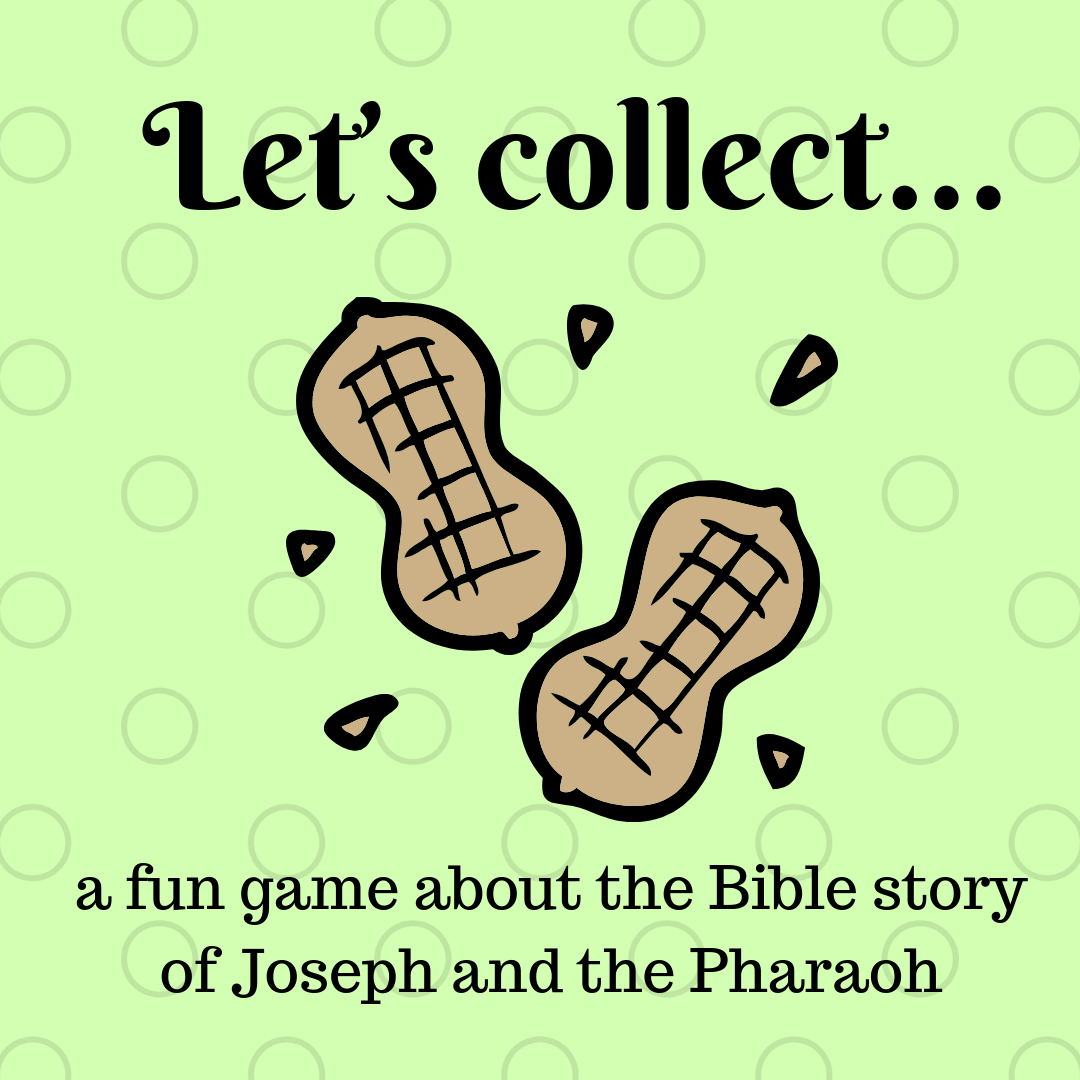 Lets collect a fun game about the Bible story of Joseph and the Pharaoh. Ideal for a Sunday school lesson kids ministry or childrens church