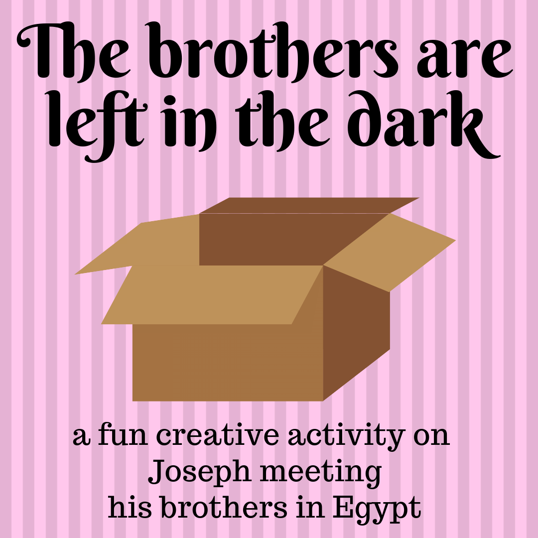 The brothers of Joseph a creative activity on Joseph meeting his brothers in Egypt. Ideal for a Sunday school lesson kids ministry or childrens church