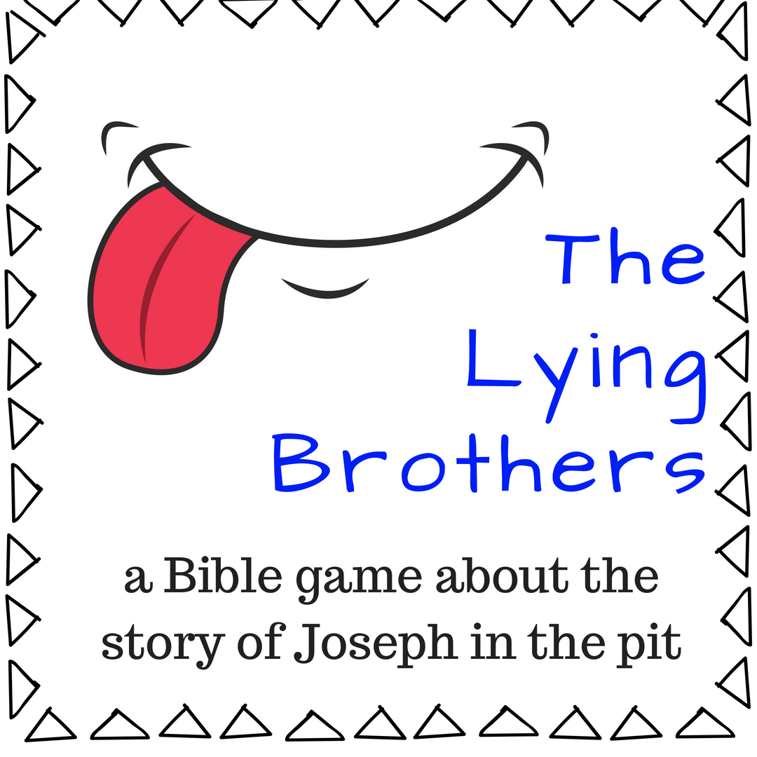 The Lying Brothers a fun Bible game about the Bible story of Joseph in the well and being sold as a slave to Egypt