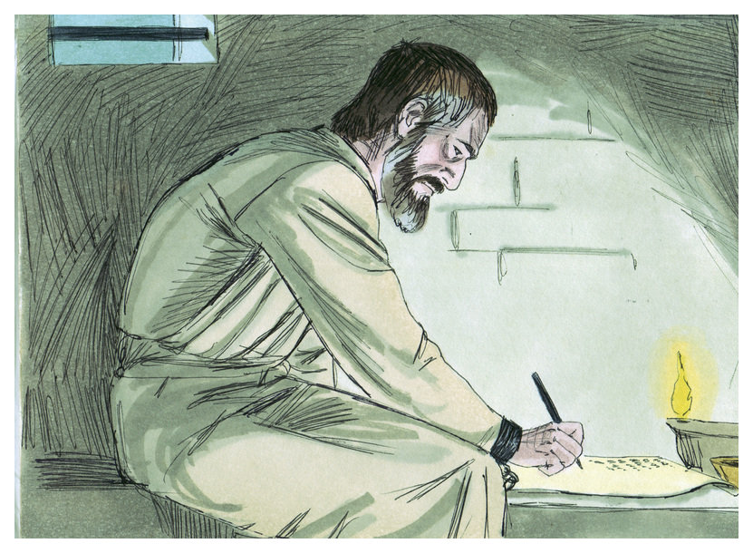 apostle Paul writes a letter